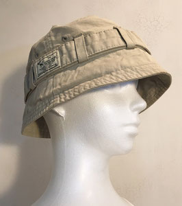 ONE TRUE SAXON ICONIC BUCKET HAT LIGHT BEIGE