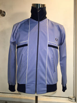 FRED PERRY TRACK TOP SKY BLUE