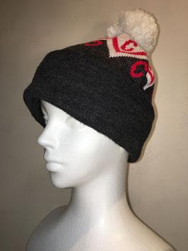 CASUAL CONNOISSEUR WEIR BOBBLE HAT BLACK