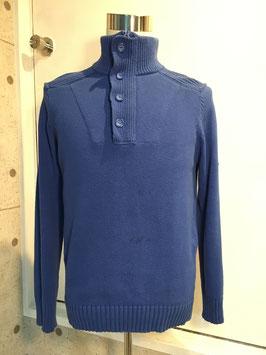 HENRI LLOYD HALF ZIP JUMPER FRENCH BLUE