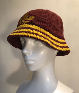 ADIDAS HAT RED BROWN