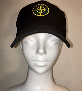 STONE ISLAND  CAP BLACK