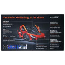 CarPro Fahne/Banner Produktportfolio Gross