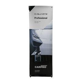 CarPro CQuartz PROFESSIONAL Stand Banner