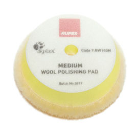 RUPES Yellow Wool Polishing Pad Medium