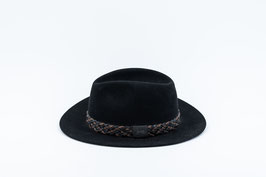 Hat oval fit, black I Hut ovale Passform, schwarz