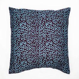 Cushion turquoise peaks 50x50 - Kissen türkise Spitzen 50x50