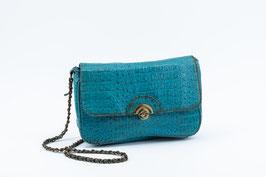 Bag small, turquoise I Tasche klein, türkis