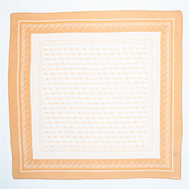 Foulard light orange / Tuch helles Orange