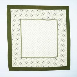 Foulard light green / Tuch helles grün