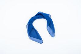 Foulard blue /Tuch blau