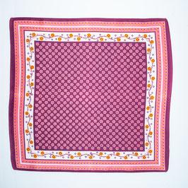 Foulard purple pattern mix / Tuch violetter Mustermix