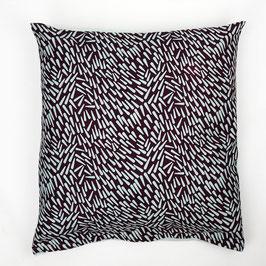 Cushion turquoise back cover 50x50 - Kissen türkise Rückseite 50x50