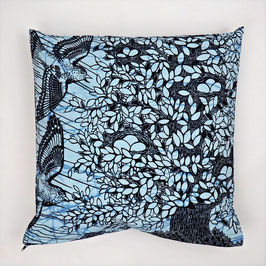 Cushion with swallow 40x40 - Kissen mit Schwalbe 40x40
