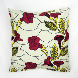 "Cushion ""rose garden"" 50x50 - Kissen ""Rosengarten"" 50x50"
