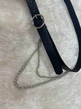 Cinturón básico con cadena