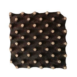 Holzstempel Block Print Punkt M155