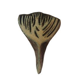 Holzstempel Block Print Blume M 80