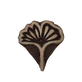 Holzstempel Block Print Ginko M 12