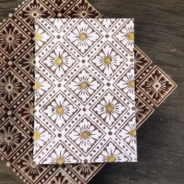 Postkarten handbedruckt mit indischen Holzstempel 30