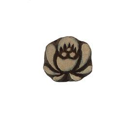 Holzstempel Block Print Blume M 73