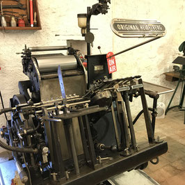 Letterpress - Block Print Workshop 19. September 2020