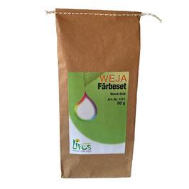 Weja Färbeset Resed-Gelb für Baumwolle und Leinen