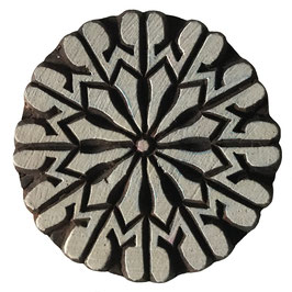 Holzstempel Block Print  Mandala M187