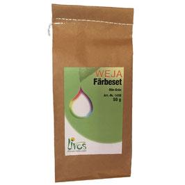 Weja Färbeset Olive Grün für Baumwolle und Leinen
