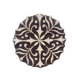 Holzstempel Block Print  Mandala klein M134