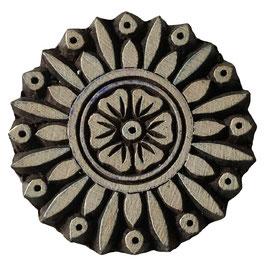 Holzstempel Block Print  Mandala Stern M189