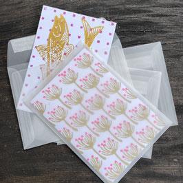 Couvert transparent C6 passend zu den Falt & Postkarten