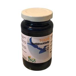 Togis natürliche Textildruckfarbe Indigoblau 125ml