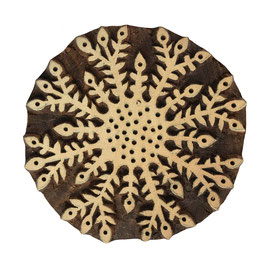 Holzstempel   Snowflake M116