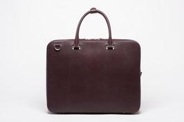 Faire Leather Briefcase Burgundy