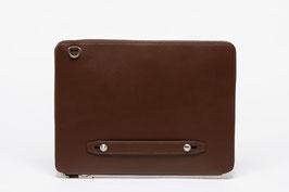 Farie Leather Padfolio Dark Brown