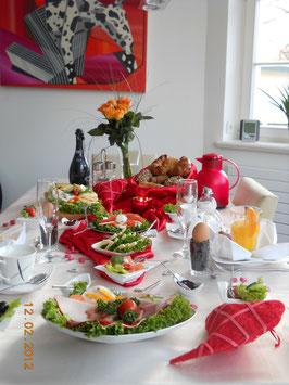 Valentinsfrühstück