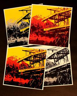 Niesen vom Niederhorn aus (Kartenserie)