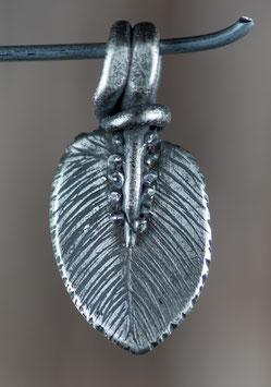 Feder aus Artclay Silber