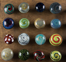 Möbelknopf aus Glas