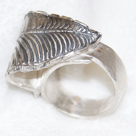 Art Clay Silber Fingerring Nr. 8
