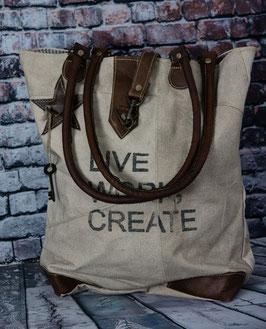 Tasche mit Stern Bag Live