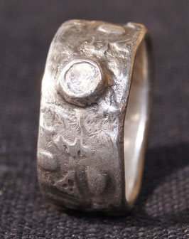 Art Clay Silber Fingerring Nr. 36