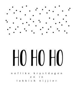 Ho Ho Ho stippen