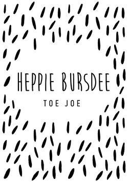 Heppie bursdee