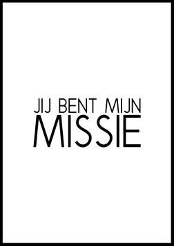 Jij bent mijn missie