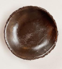 Bowls & Plates Nearly Black Rough Edges