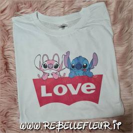 Tshirt Stitch in Love
