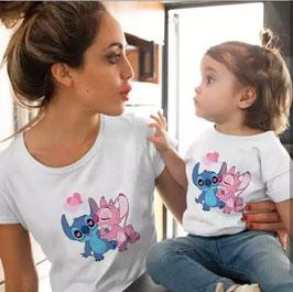Tshirt Stitch mamma e figlio/a