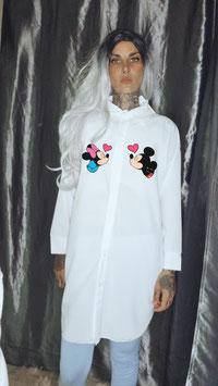 Camicia Minnie e Topolino